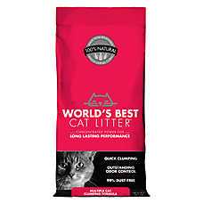 World's Best Cat Litter - Clumping, Multiple Cat