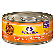 Wellness® Cubed Cat Food - Natural, Grain Free