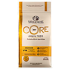 Wellness® CORE® Indoor Adult Cat Food - Natural, Grain Free