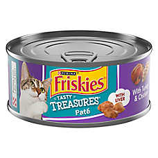 Purina® Friskies® Tasty Treasures Pate Cat Food