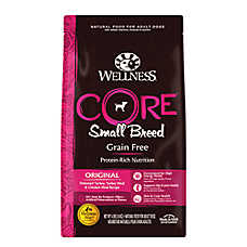 Wellness® CORE® Small Breed Adult Dog Food - Natural, Grain Free, Original Formula