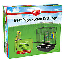 Super Pet® Treat Play-n-Learn Parakeet Cage