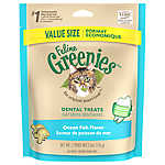 Feline GREENIES® Dental Cat Treat - Ocean Fish