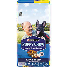 Purina® Puppy Chow® Large Breed Puppy Food - Chicken