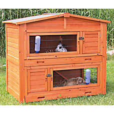 Trixie Natura 2-Story Rabbit Hutch