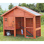 Trixie Gabled Roof Rabbit Hutch