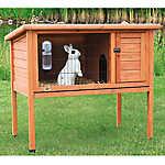 Trixie 1-Story Rabbit Hutch
