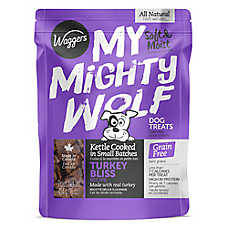 Waggers™My Mighty Wolf Dog Treat - Natural, Grain Free, Turkey
