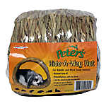 Marshall Small Animal Woven Grass Hide-A-Way Hut
