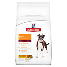 Hill's® Science Diet® Light Adult Dog Food - Chicken Meal & Barley