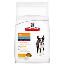 Hill's® Science Diet® Light Adult Dog Food - Small Bites, Chicken Meal & Barley