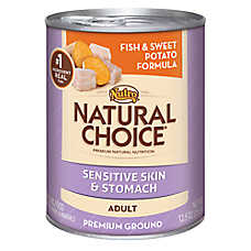 NUTRO® NATURAL CHOICE® Sensitive Skin & Stomach Adult Dog Food