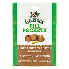 GREENIES® Pill Pockets® Peanut Butter Capsule Dog Treat