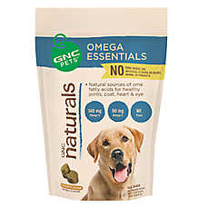 GNC Naturals Fish Oil Dog Wafer