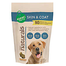 GNC Naturals Skin & Coat Formula Dog Wafer
