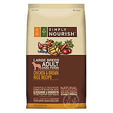 Simply Nourish® Large Breed Adult Dog Food - Natural, Chicken & Brown Rice