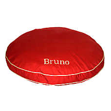Carolina Pet Classic Canvas Round-A-Bout Personalized Pet Bed
