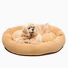 Carolina Pet Microfiber Personalized Bagel Pet Bed