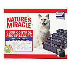 NATURE'S MIRACLE™ Just For Cats Odor Control Receptacles