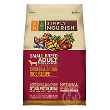 Simply Nourish™ Small Breed Adult Dog Food - Natural, Chicken & Brown Rice