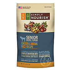Simply Nourish™ Senior Dog Food - Natural, Chicken & Brown Rice