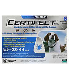 Certifect 23-44 Lb Dog Flea & LiceTreatment