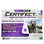 Certifect 45-88 Lb Dog Flea & Lice Treatment