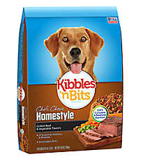 Kibbles 'n Bits Chef's Choice Homestlye Dog Food - Beef & Vegetable