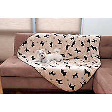 Carolina Pet Embossed Dog Throw Blanket