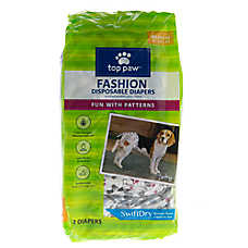 Top Paw Fashion Diapers
