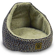 Precision Pet SnooZZy Suede Hooded Pet Bed