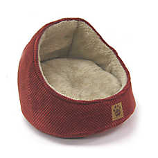 Precision Pet SnooZZy Chenille Hooded Pet Bed