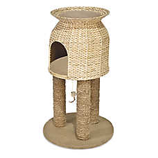 WARE® Scratch and Sleep Tower Cat Post