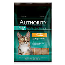 Authority® Grain Free Dental Cat Treats