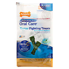 Nylabone Advanced Oral Care Tartar Fighting Dog Treat