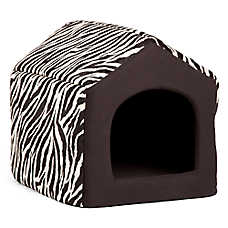 Best Friends by Sheri Convertible House Animal Print Pet Bed