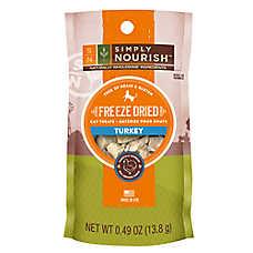 Simply Nourish™ Freeze Dried Turkey Cat Treat