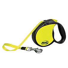 flexi® Neon Tape Retractable Dog Leash