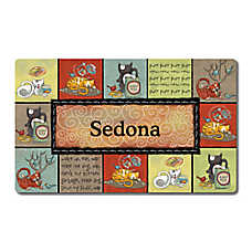 Drymate Kitty Chaos Personalized Cat Mat