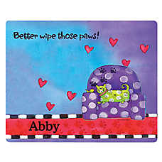Drymate Pampered Cat Personalized Litter Mat