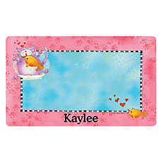 Drymate Fish Bowl Personalized Placemat