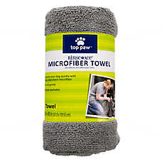 Top Paw™ Rinse Ace® Microfiber Pet Bath Towel