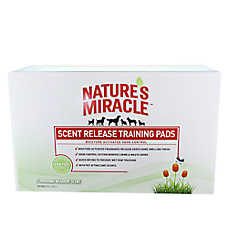 NATURE'S MIRACLE™ Flowering Meadow Scent Release Pet Training Pads