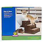 Top Paw® Step & Store Carpeted Pet Stairway