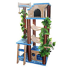 Kitty Mansions Mini Amazon Cat Tree