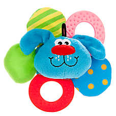 "Toys""R""Us® Crinkle Teether Ring Puppy Toy"