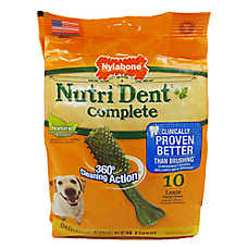 Nylabone NutriDent Complete Large Dental Dog Chews