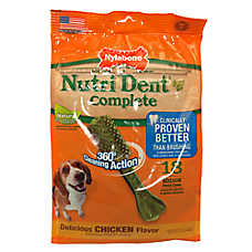 Nylabone NutriDent Complete Medium Dental Dog Chews
