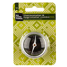 All Living Things® Hermit Crab Habitat Thermometer & Hygrometer Combo