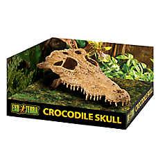 Exo Terra® Crocodile Skull Reptile Terrarium Hideout